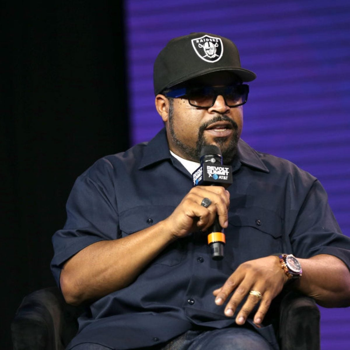 Ice Cube Under Fire For Working With Donald Trump