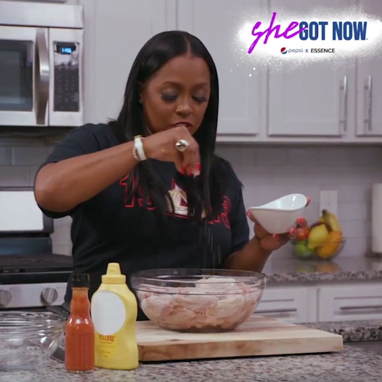 Keshia Knight Pulliam Invites Us Into Her Kitchen For The Ultimate Fried Chicken Recipe