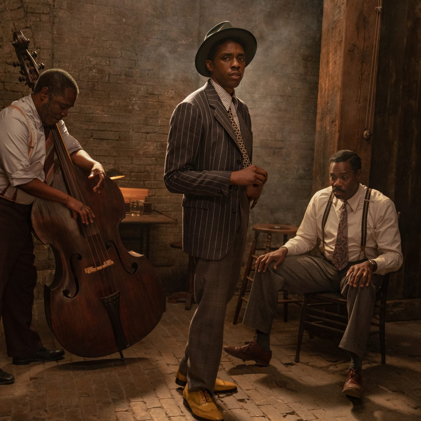 Netflix Releases First Look At Chadwick Boseman and Viola Davis In 'Ma Rainey's Black Bottom'