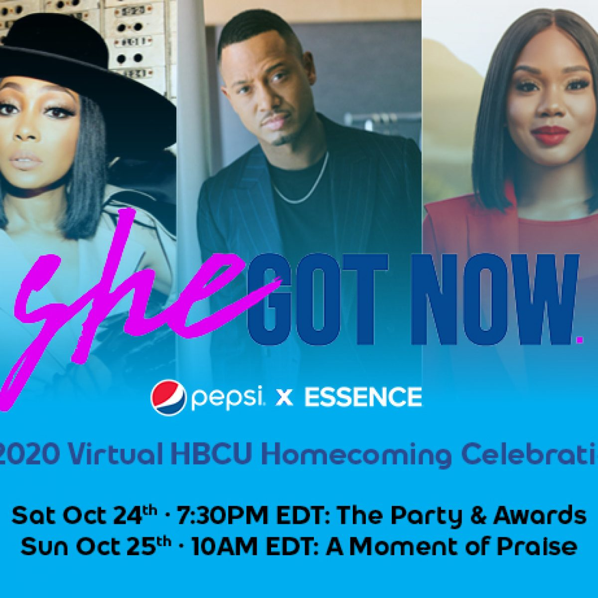 ESSENCE Is Teaming Up With Pepsi To Bring You The Ultimate Virtual HBCU Homecoming Season Celebration