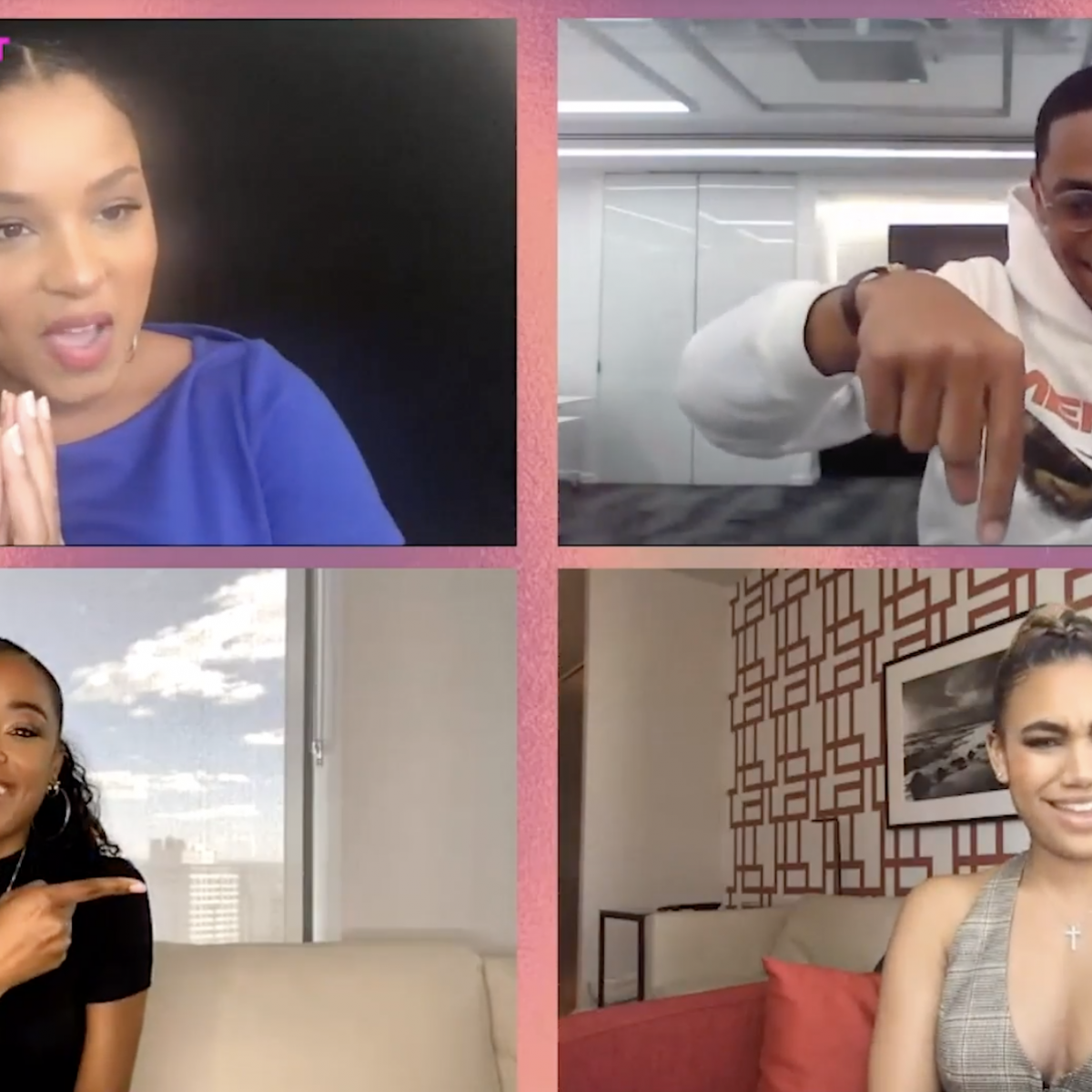 The Cast Of STARZ 'Power Book II: Ghost' Weigh In On Being Young Black Leads On A Hit TV Show