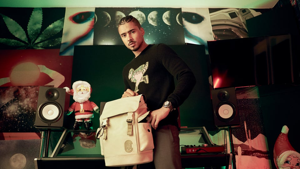 Coach Taps Quincy For Its Holiday Campaign