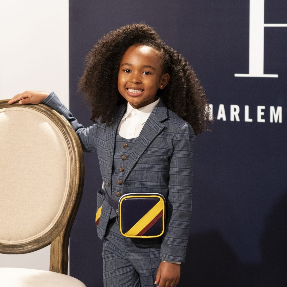 Zhuri James Host Janie and Jack x Harlem's Fashion Row Launch Event