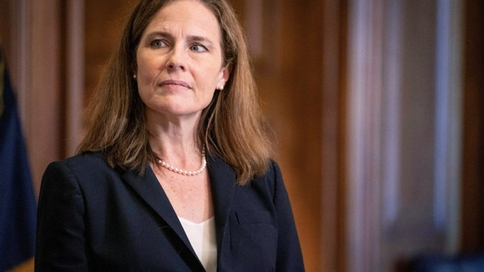 GOP-Controlled Senate Confirms Amy Coney Barrett To Supreme Court
