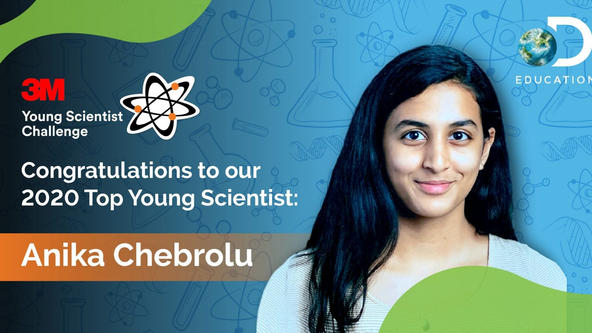 Texas Girl, 14, Wins Young Scientist Award For Discovering Potential COVID-19 Treatment