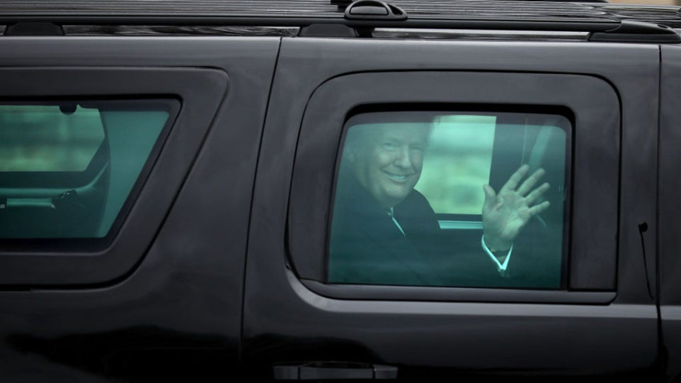 Trump Claims He's Being Discharged From Walter Reed Today, White House Physician Remains 'Cautiously Optimistic, On Guard'