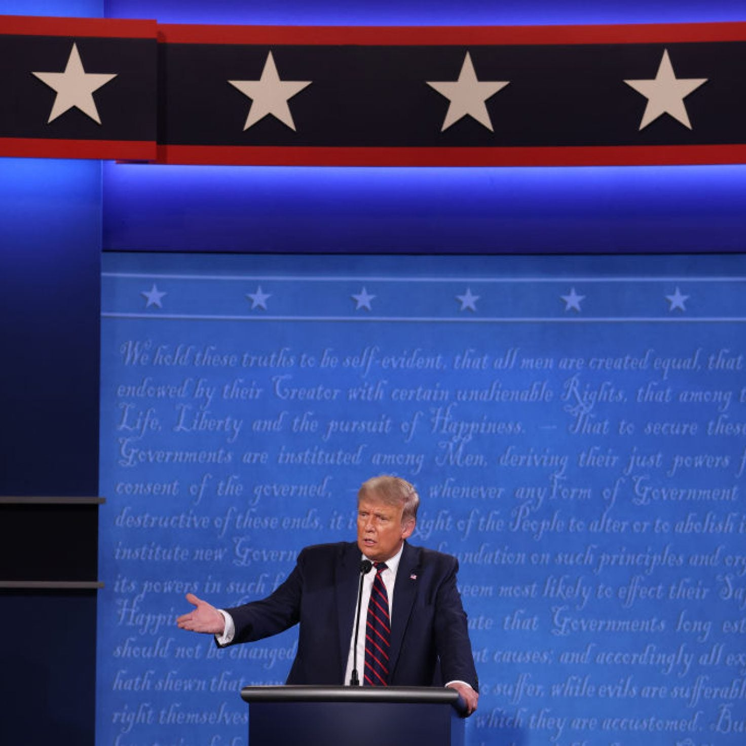White Supremacist-In-Chief Provides Extremist Group With Rallying Cry During First Presidential Debate