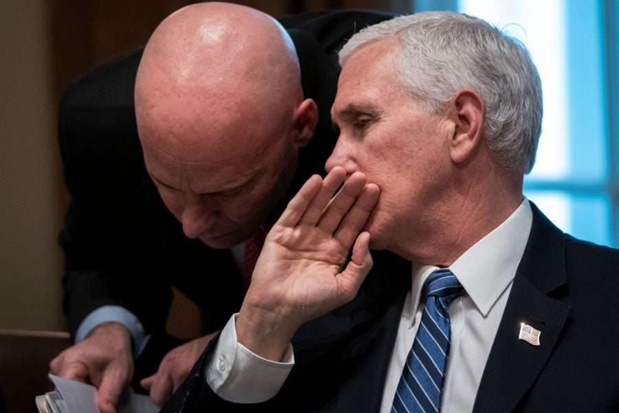 Mike Pence's Chief Of Staff Tests Positive For COVID-19