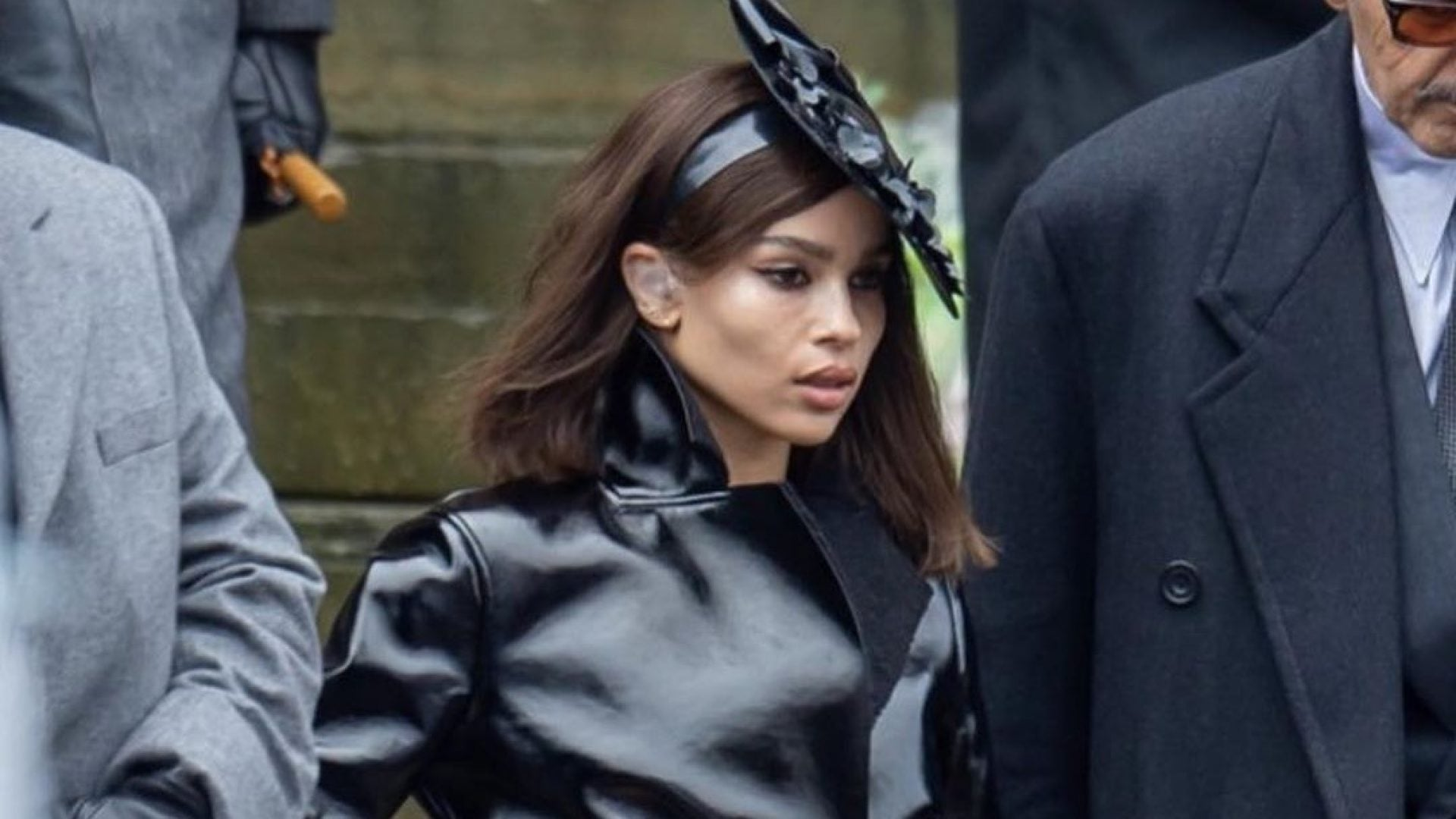 Take A First Look At Zoe Kravitz As Catwoman