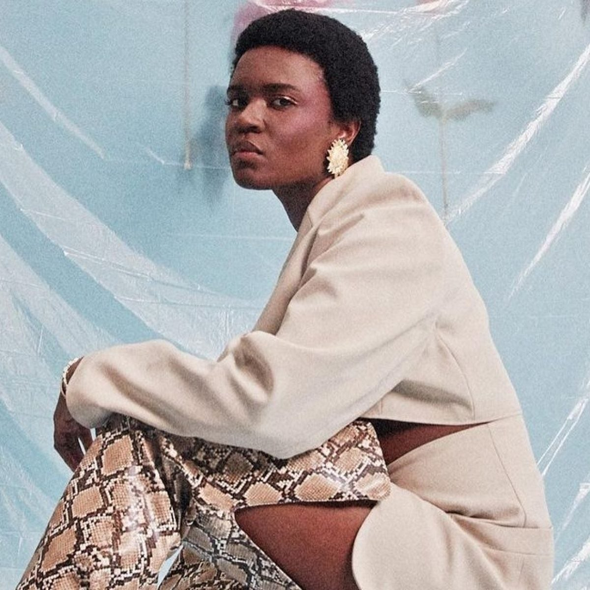 Amaarae Makes a Bold and Fierce Debut with 'The Angel You Don't Know'