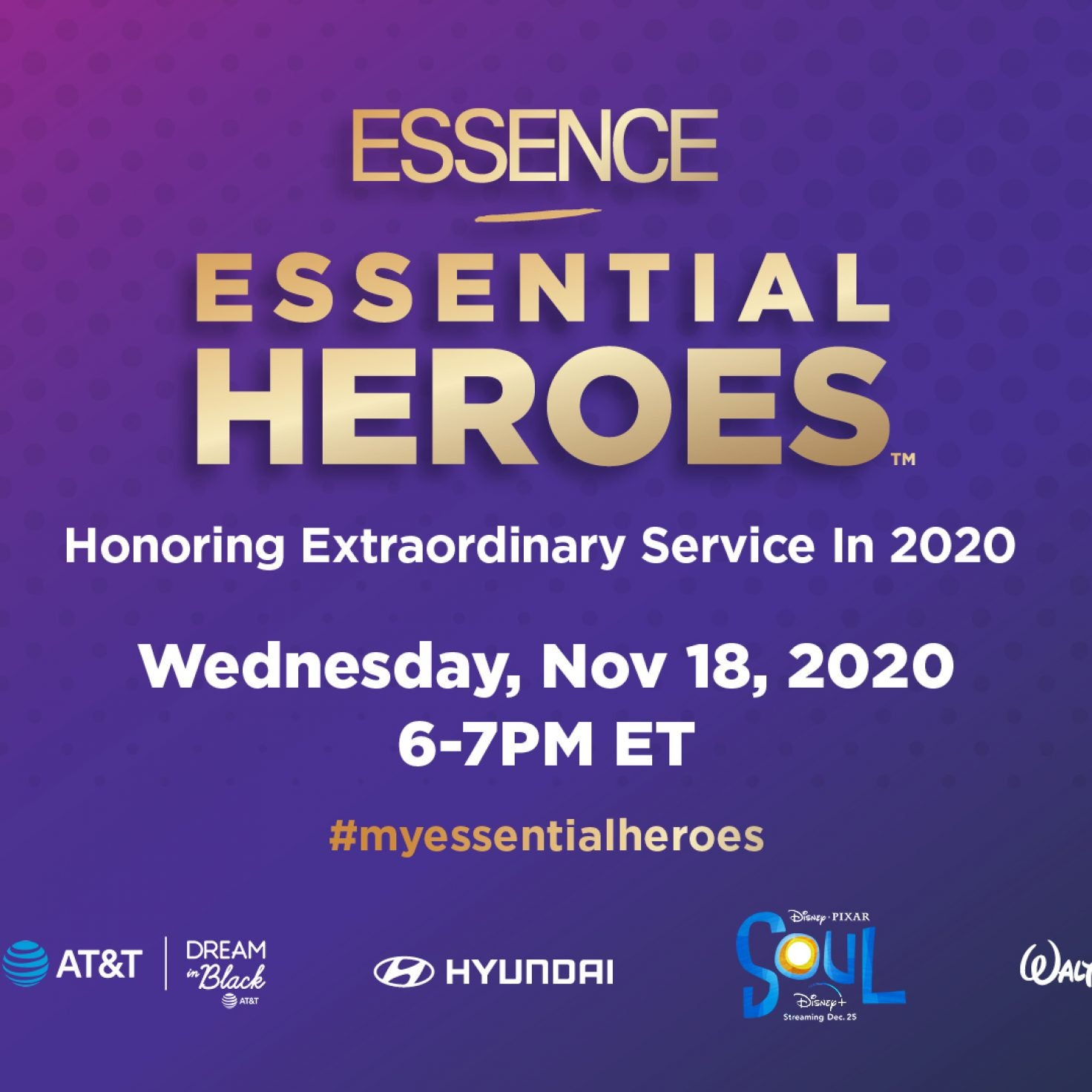 Join Eva Marcille, Jamie Foxx, June's Diary And More This Wednesday For The ESSENCE Essential Heroes Awards!