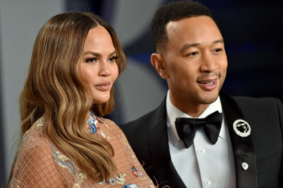John Legend And Chrissy Teigen Are Holding On To Joy After ...