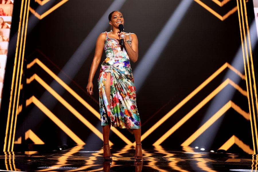 Tiffany Haddish Grammy-Nominated For Comedy Special, 'Black ...