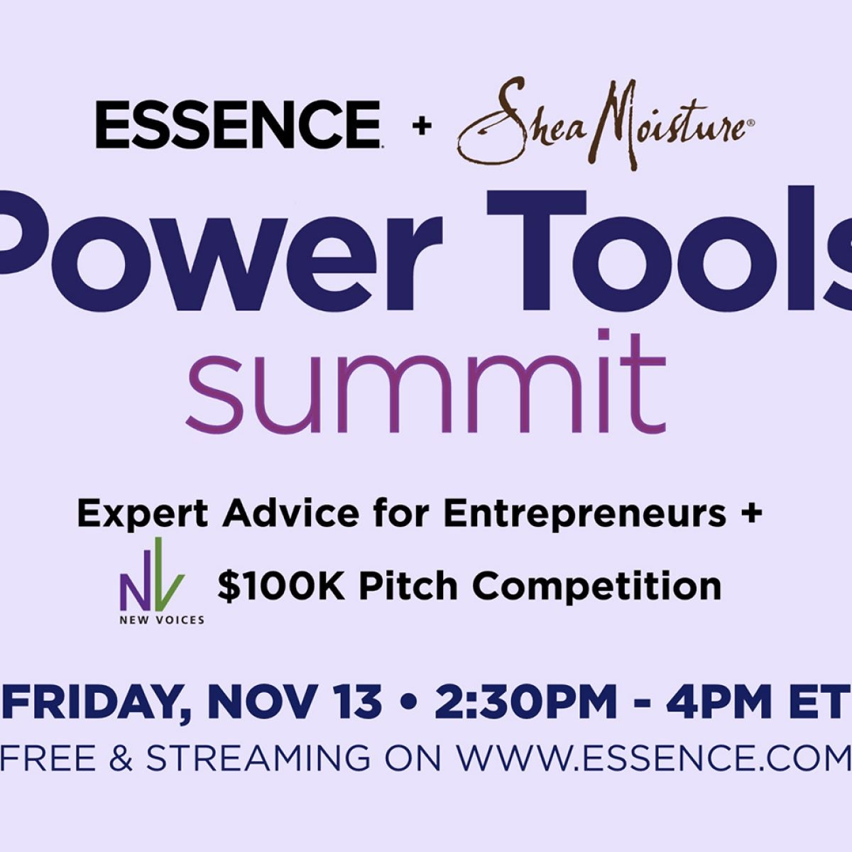 Essence + SheaMoisture Power Tools Summit - Essence