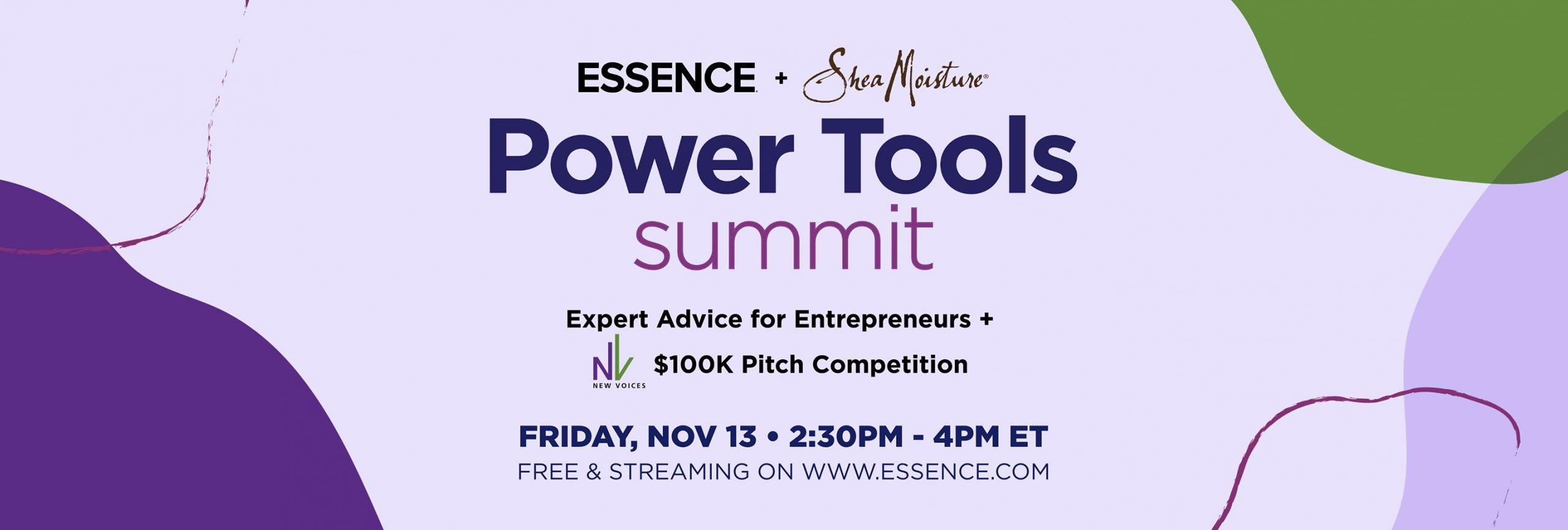 Essence + Shea Moisture Power Tools Summit