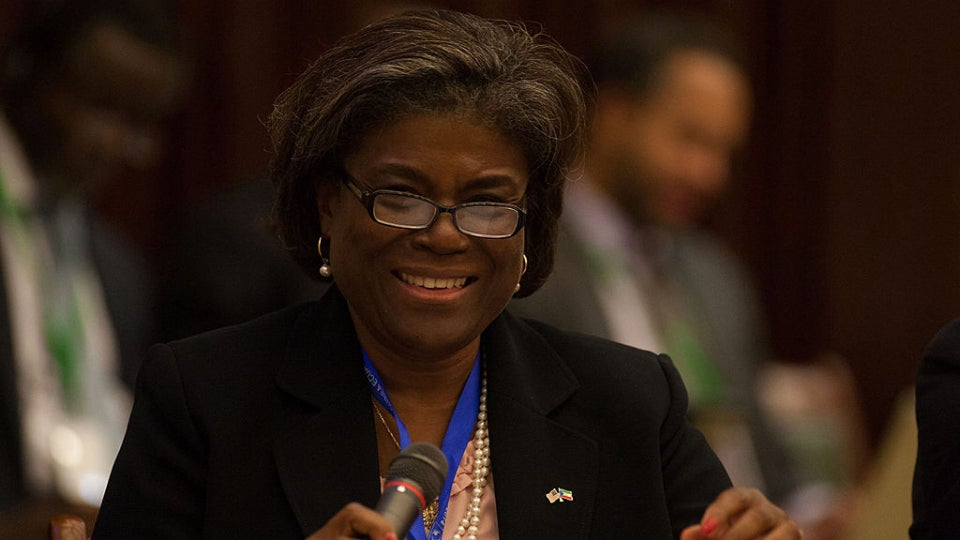 Linda Thomas-Greenfield To Be Biden's Nominee For UN Ambassador