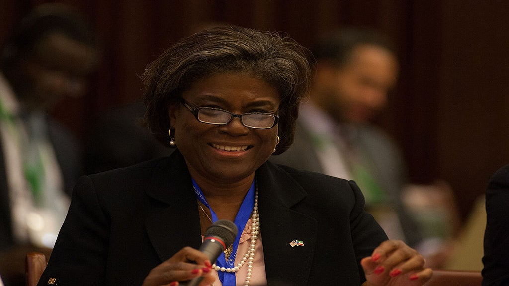 Linda Thomas-Greenfield To Be Biden's Nominee For UN Ambassador