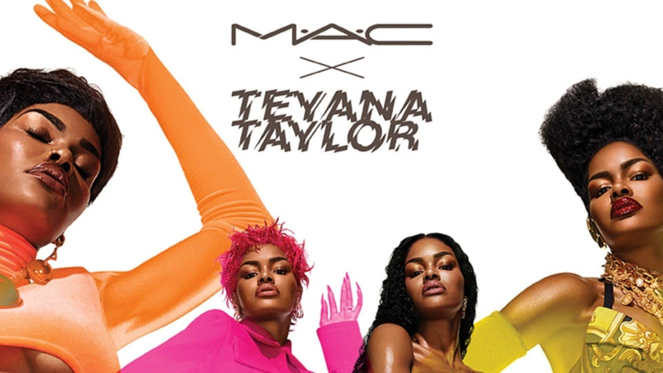 MAC Is Bringing Back Its Teyana Taylor Collection
