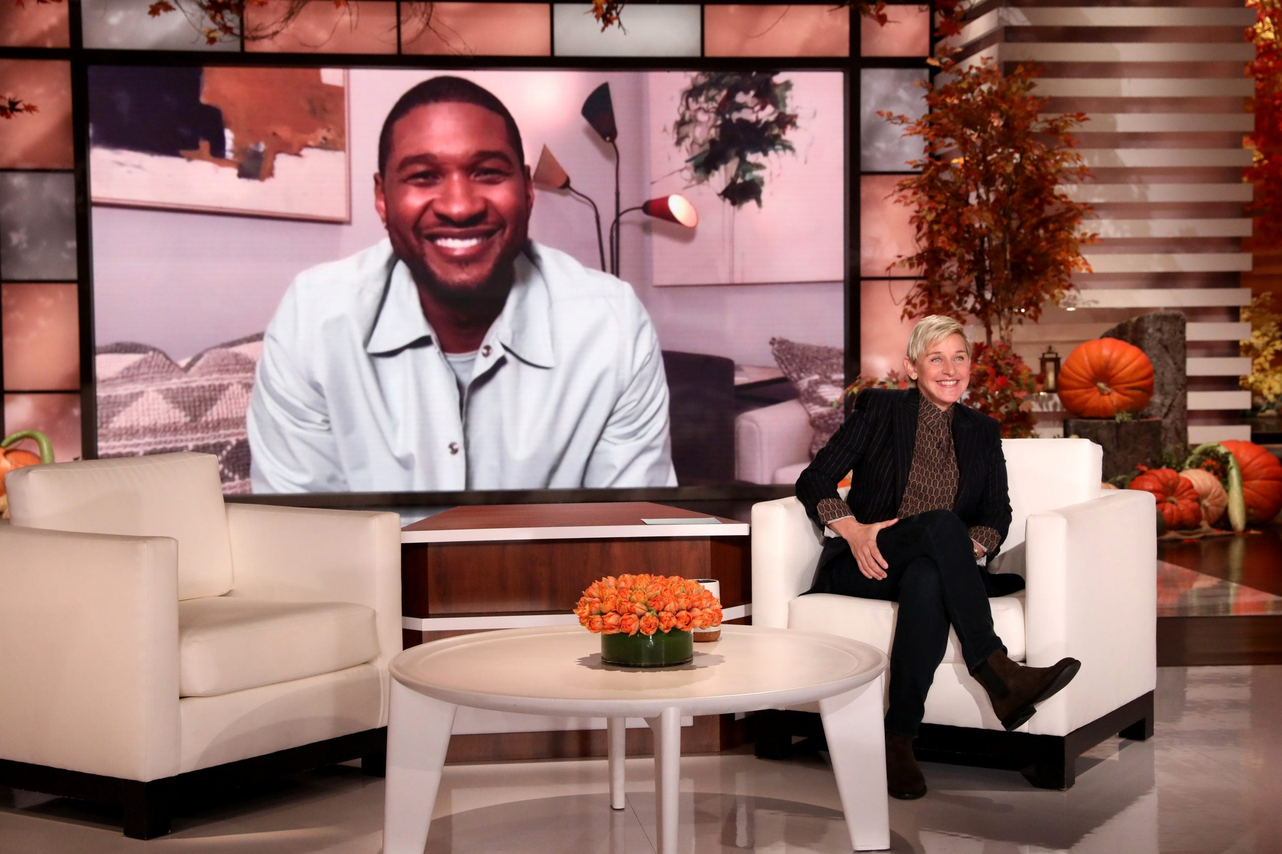 Usher Shares First Photos Of His Newborn Daughter on 'Ellen'