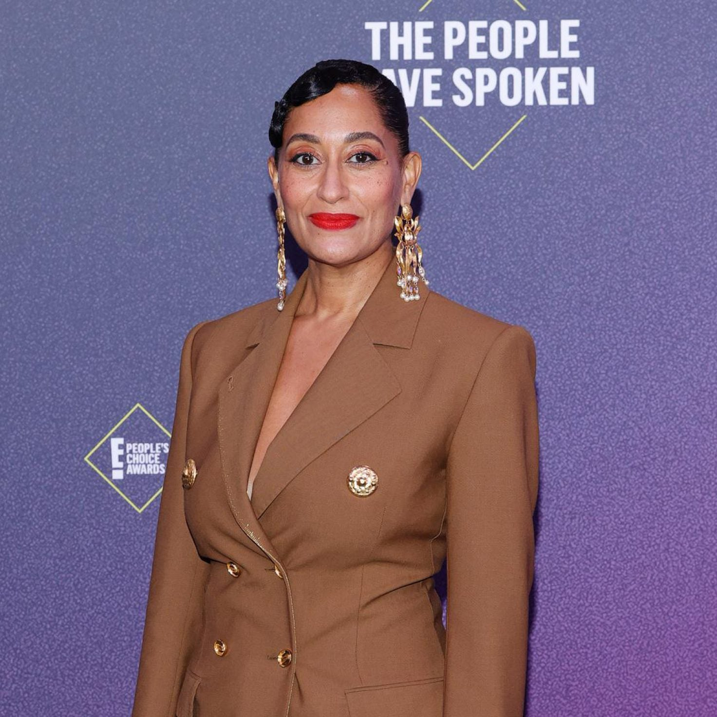 Tracee Ellis Ross Honored As Style Icon At The 2020 People's Choice Awards