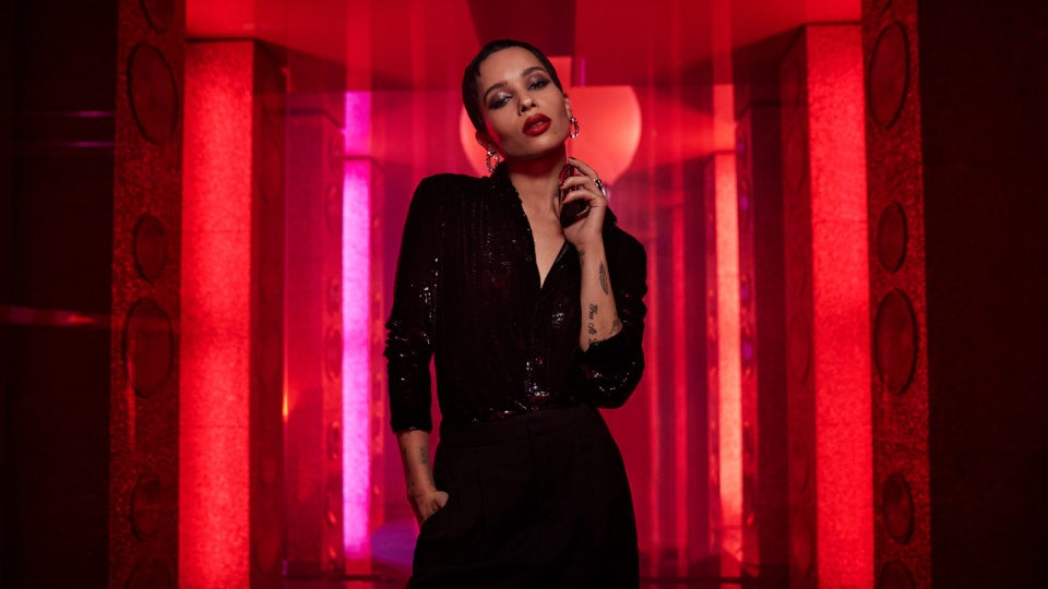 Zoe Kravitz Chats About The Holiday YSL Beauty Collection
