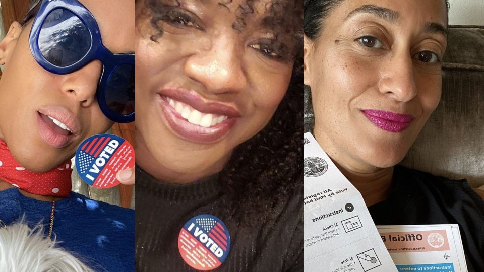 Election 2020: Every One Of Our Favorite Celebs Who Voted In This Historic Election