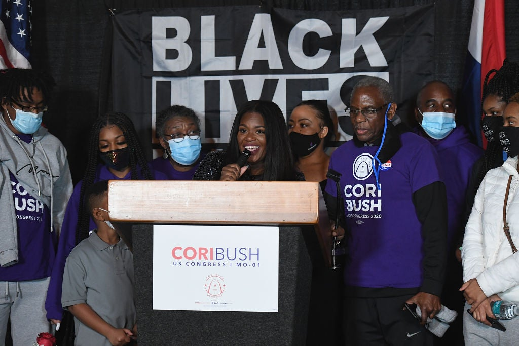 Congresswoman-Elect Cori Bush: Black Women Aren't Running To Be 'The 'First,' But So That We're Not The Last