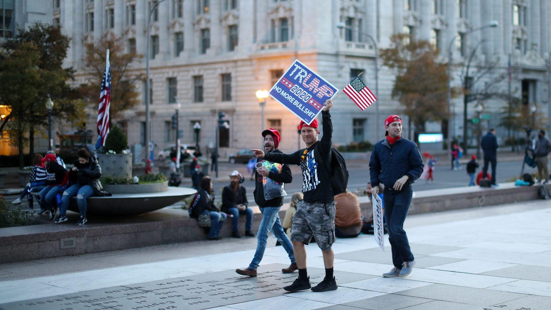 'Million MAGA March' In Washington D.C. Ends In Violence, Arrests
