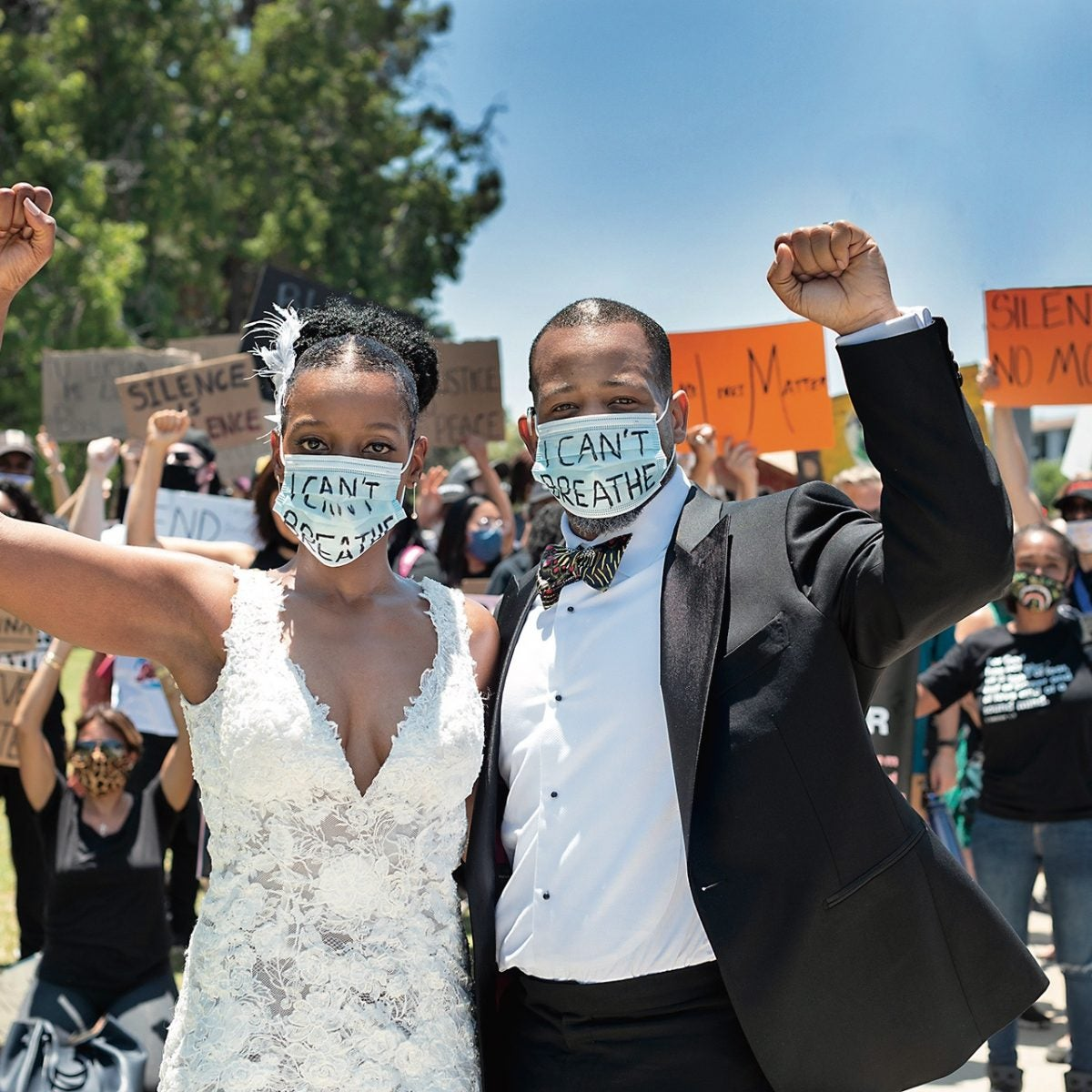 """Love Was Not Canceled: How Four Couples Said """"I Do"""" During The Pandemic"""
