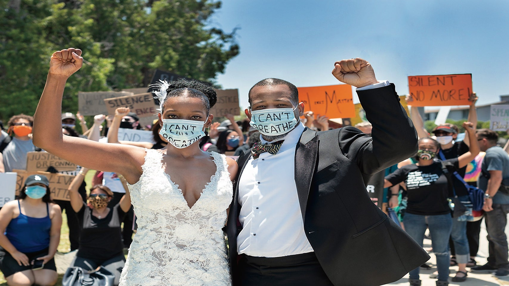 """How Four Black Couples Said """"I Do"""" During The Pandemic"""