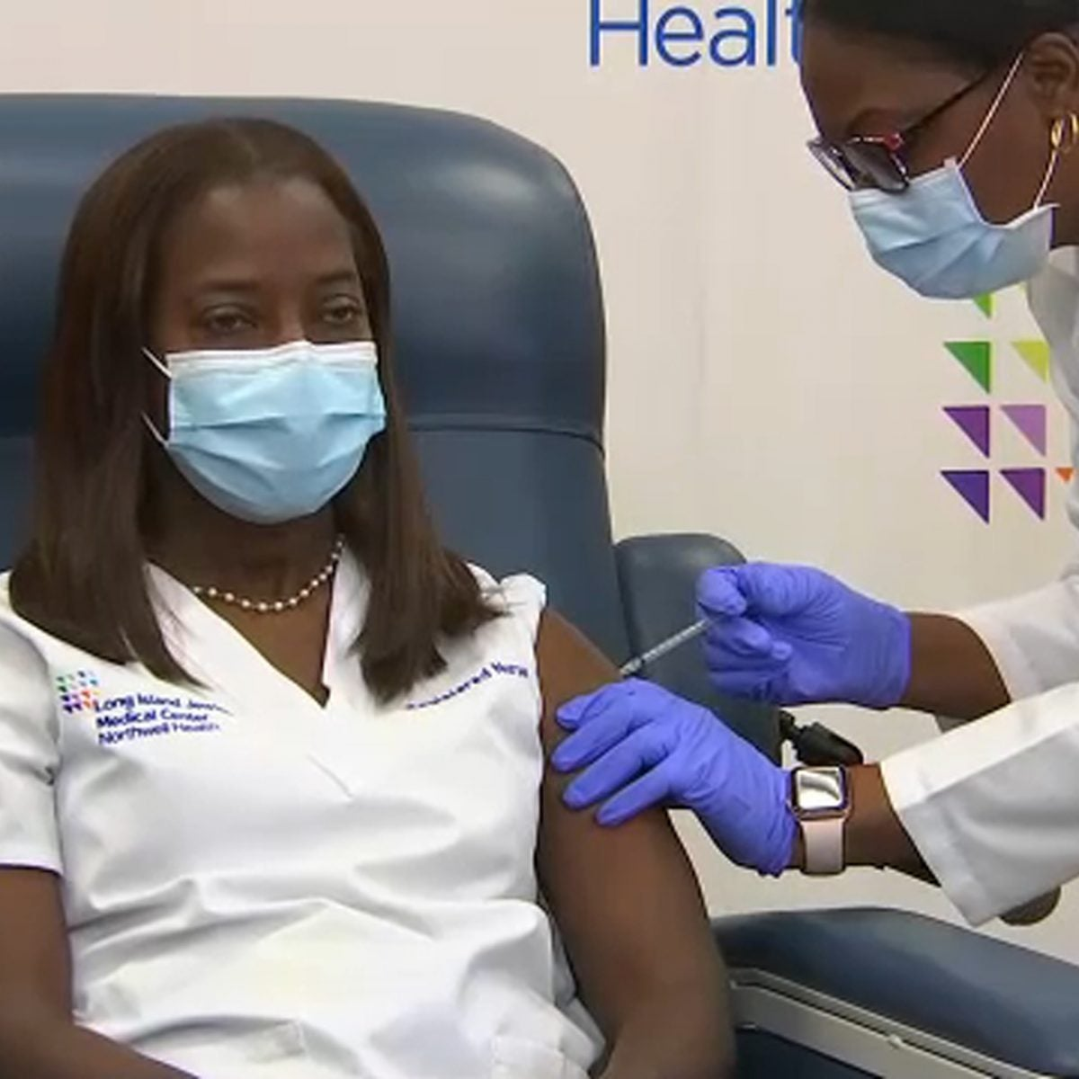 First Pfizer Vaccine Administered In NYC To Black Woman By Black Woman
