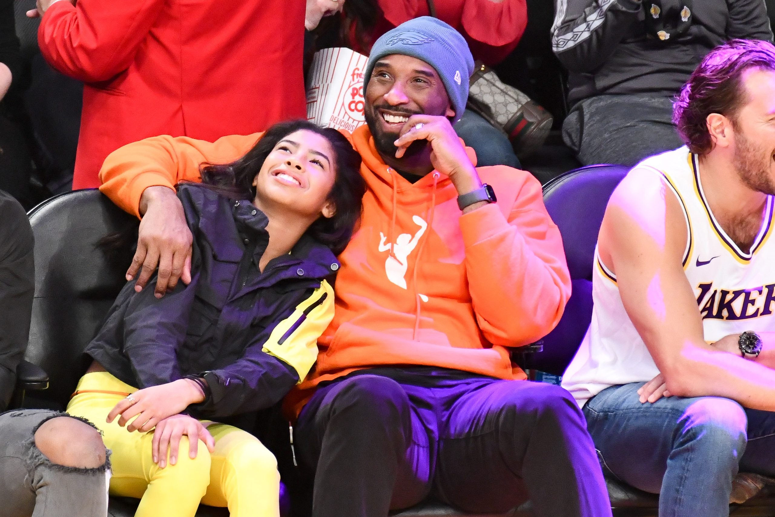 24 Photos Of Kobe Bryant, The Father And Family Man