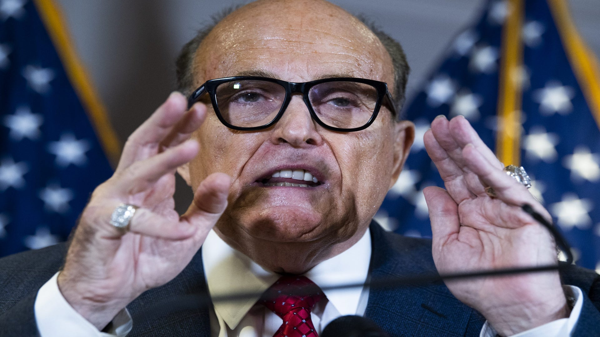 Rudy Giuliani Tests Positive For COVID-19, Arizona Legislature Shuts Down