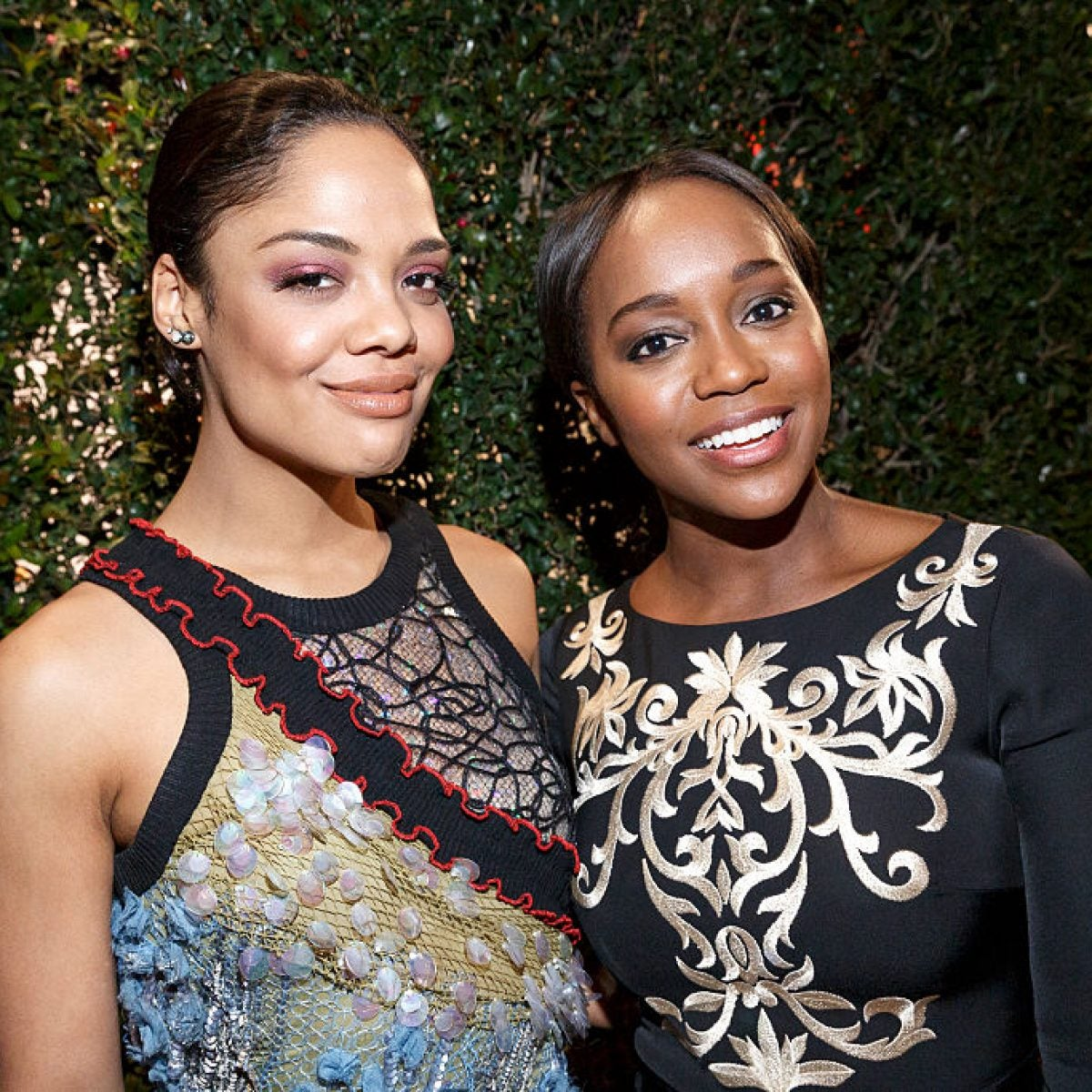 'Sylvie's Love' Stars Tessa Thompson and Aja Naomi King Discuss What It Means To Own A Seat At The Table