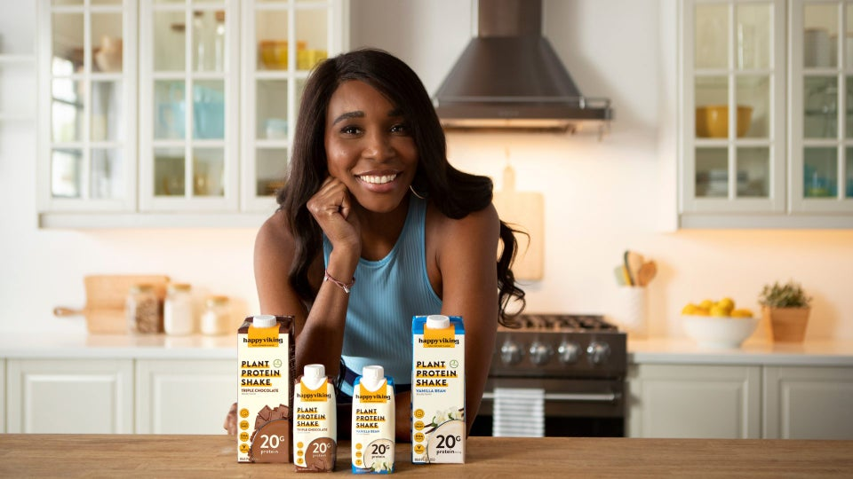 Venus Williams Launches New Vegan Protein Shakes, Shares Benefits of Plant-Based Diet