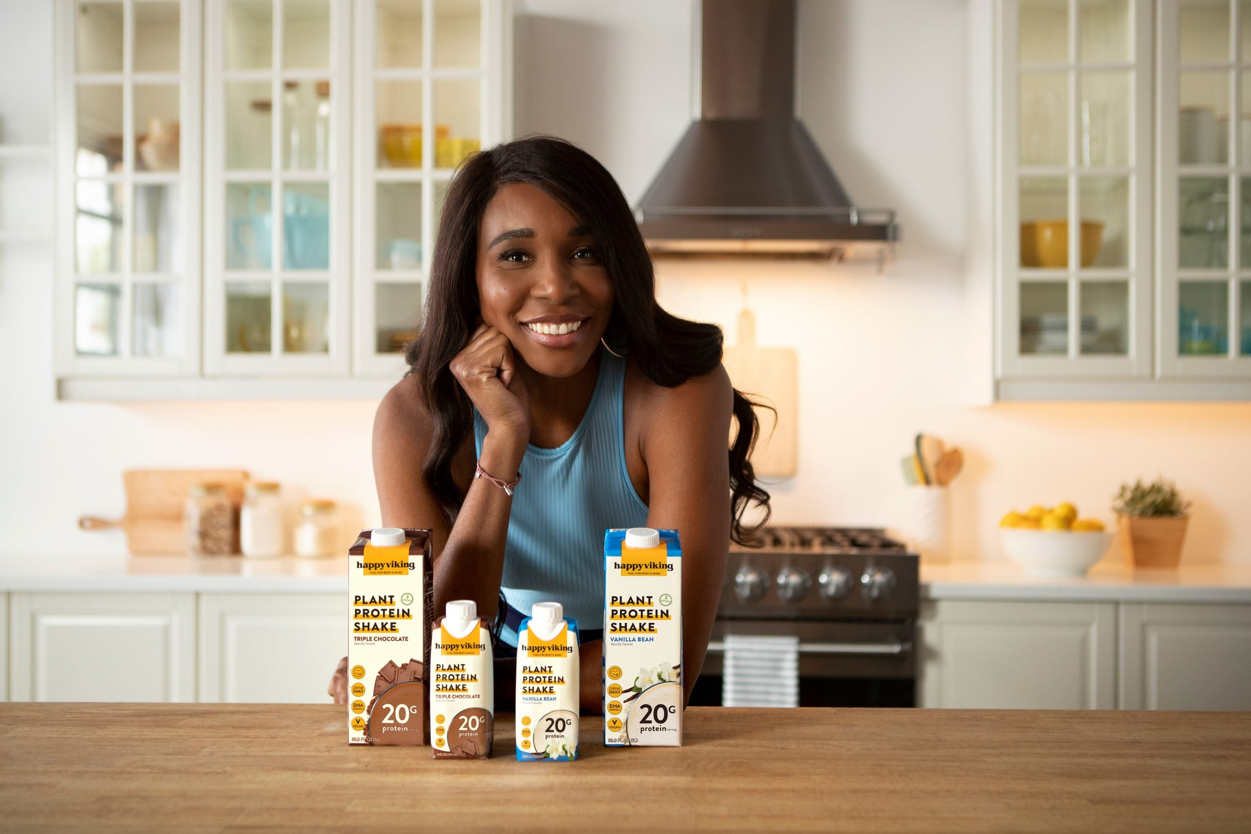 Venus Williams Launches New Vegan Protein Shakes, Shares Her Favorite Benefits of Plant-Based Living