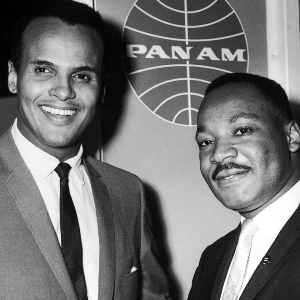 Harry Belafonte and Martin Luther King Jr. Ph Getty Images