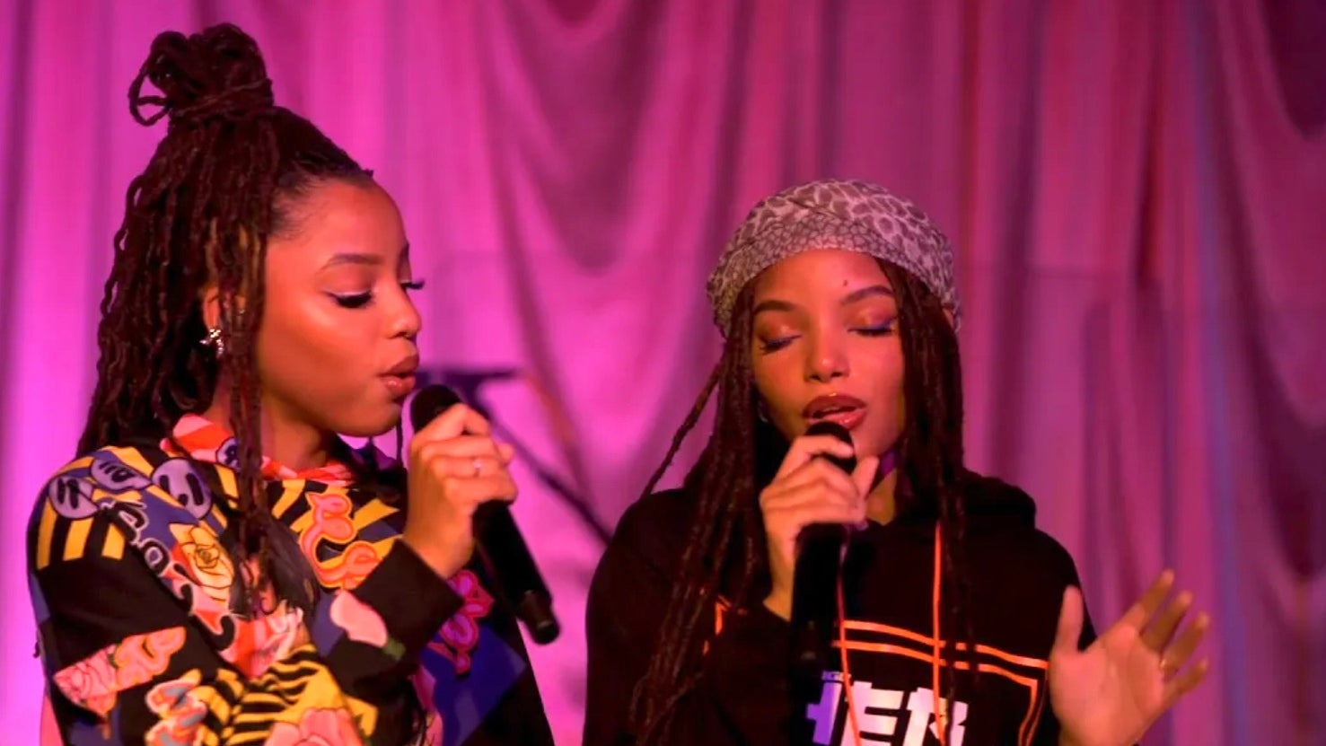 Watch Chloe X Halle's Angelic Tiny Desk (Home) Performance