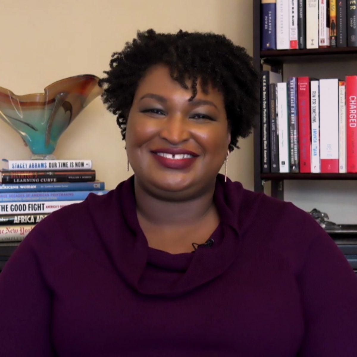 Stacey Abrams Slams Georgia Republicans' EffortsToRestrict Voting