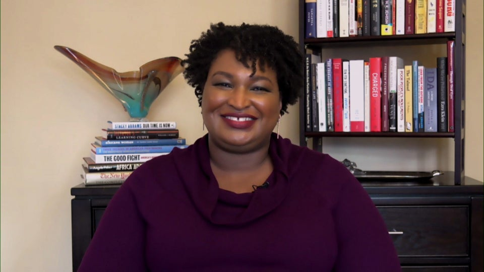 Stacey Abrams Talks Trump's Futile Attempts To Overthrow Georgia Election Results