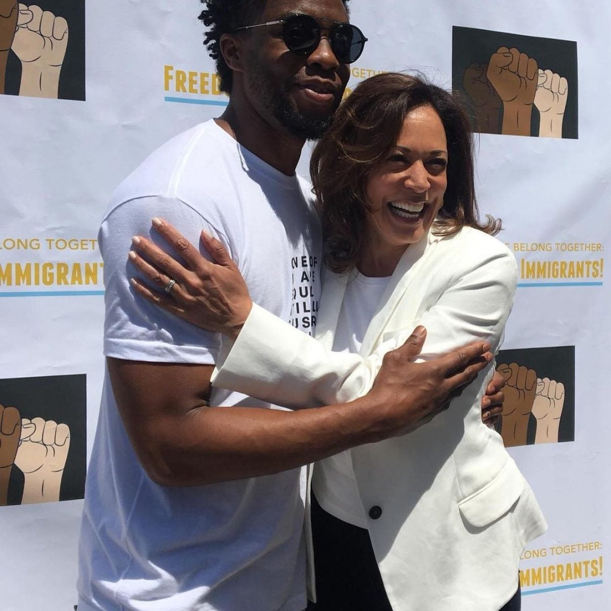 Pics Of Our Favorite Celebs With Vice President Kamala Harris
