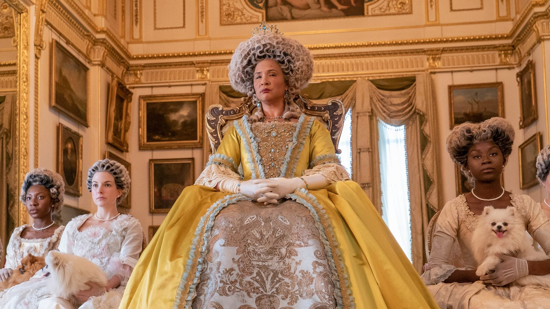 'Bridgerton's' Golda Rosheuvel On Playing Queen Charlotte: 'It Gives Us A Seat At The Round Table'
