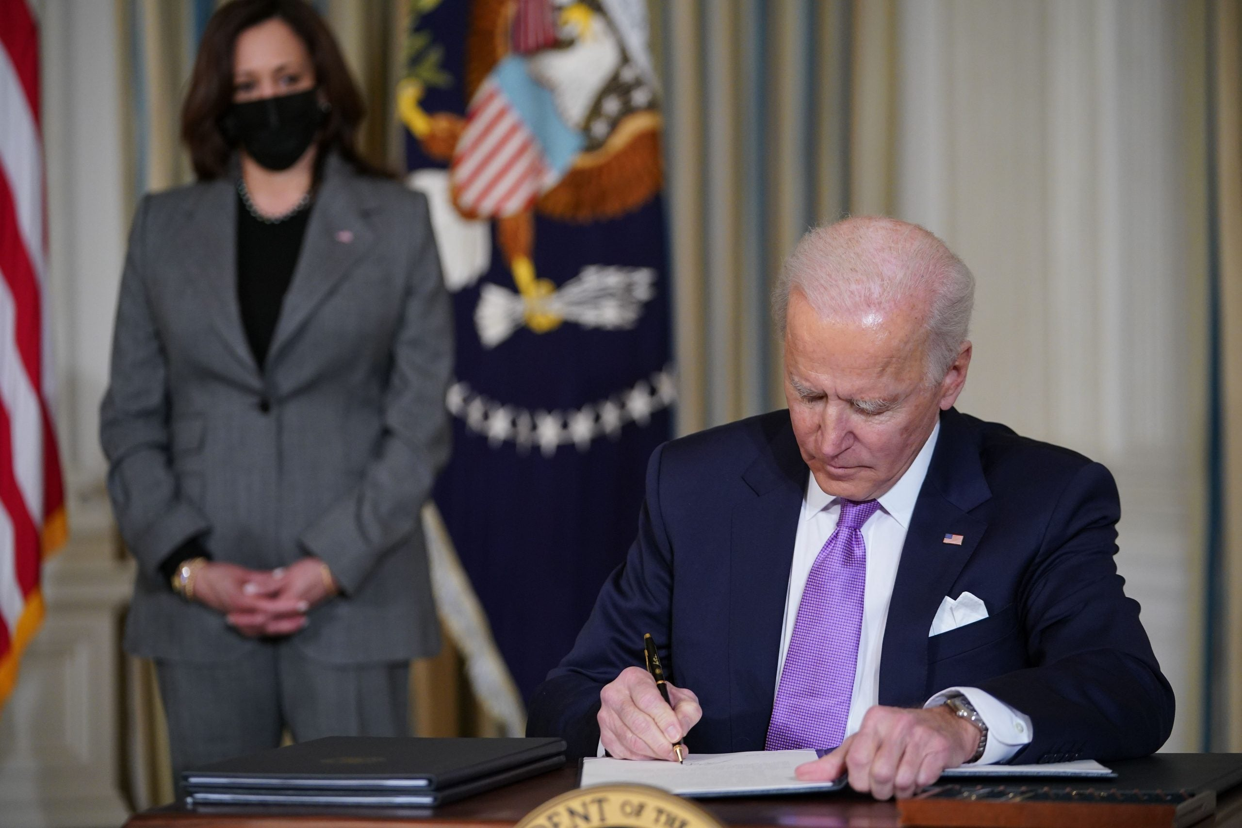 Biden Signs Executive Orders To Tackle Racial Inequity