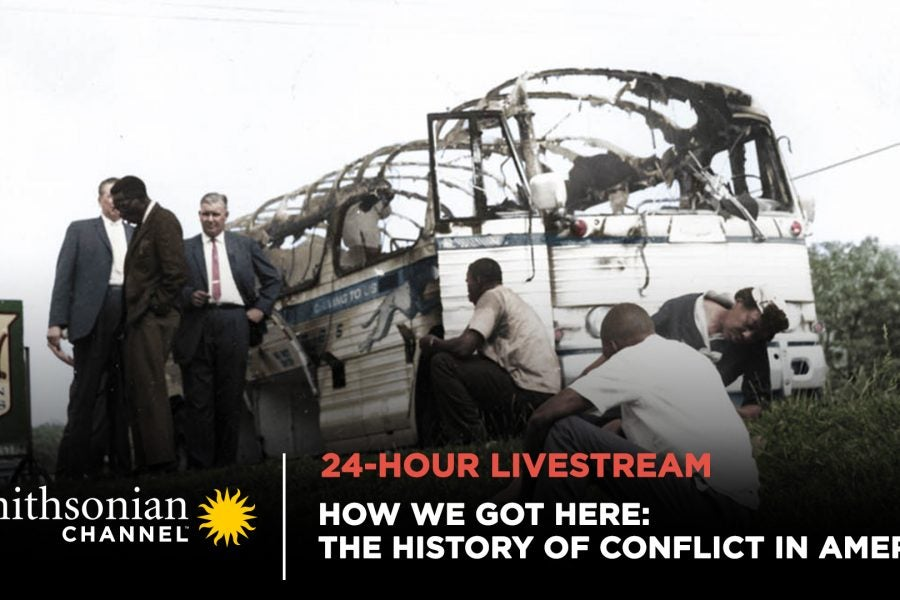 'How We Got Here: The History Of Conflict In America' Premieres Today