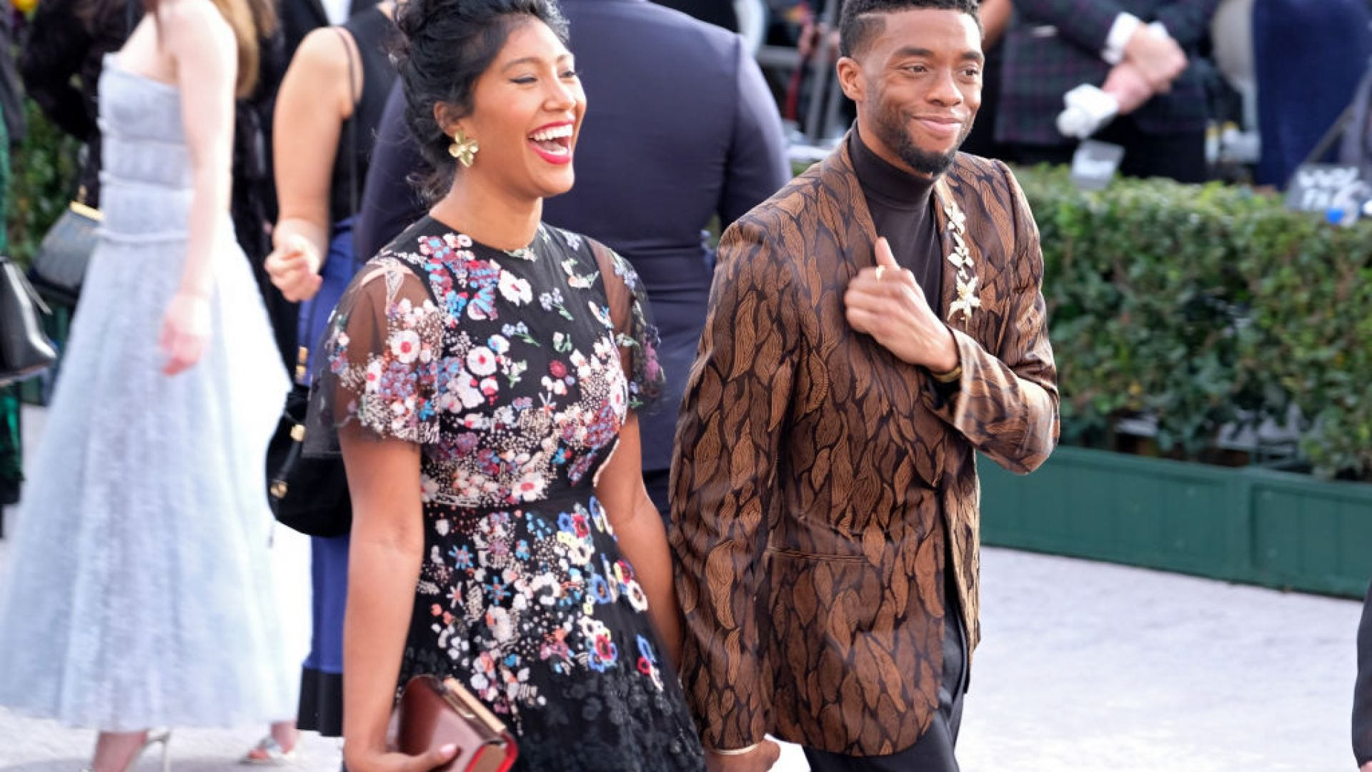 Chadwick Boseman's Widow Pays Tribute To Late Actor At Gotham Film Awards