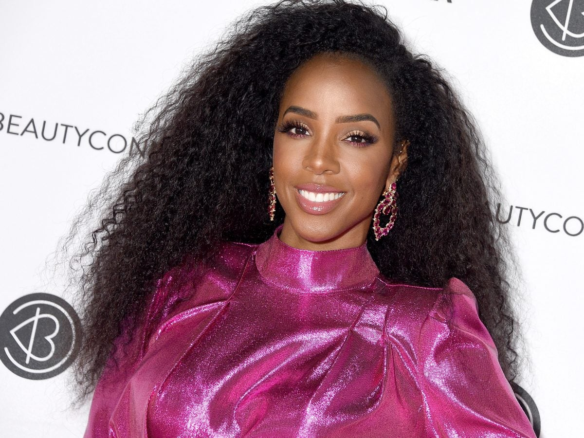 Kelly Rowland Continues Slaying In Her Third Trimester