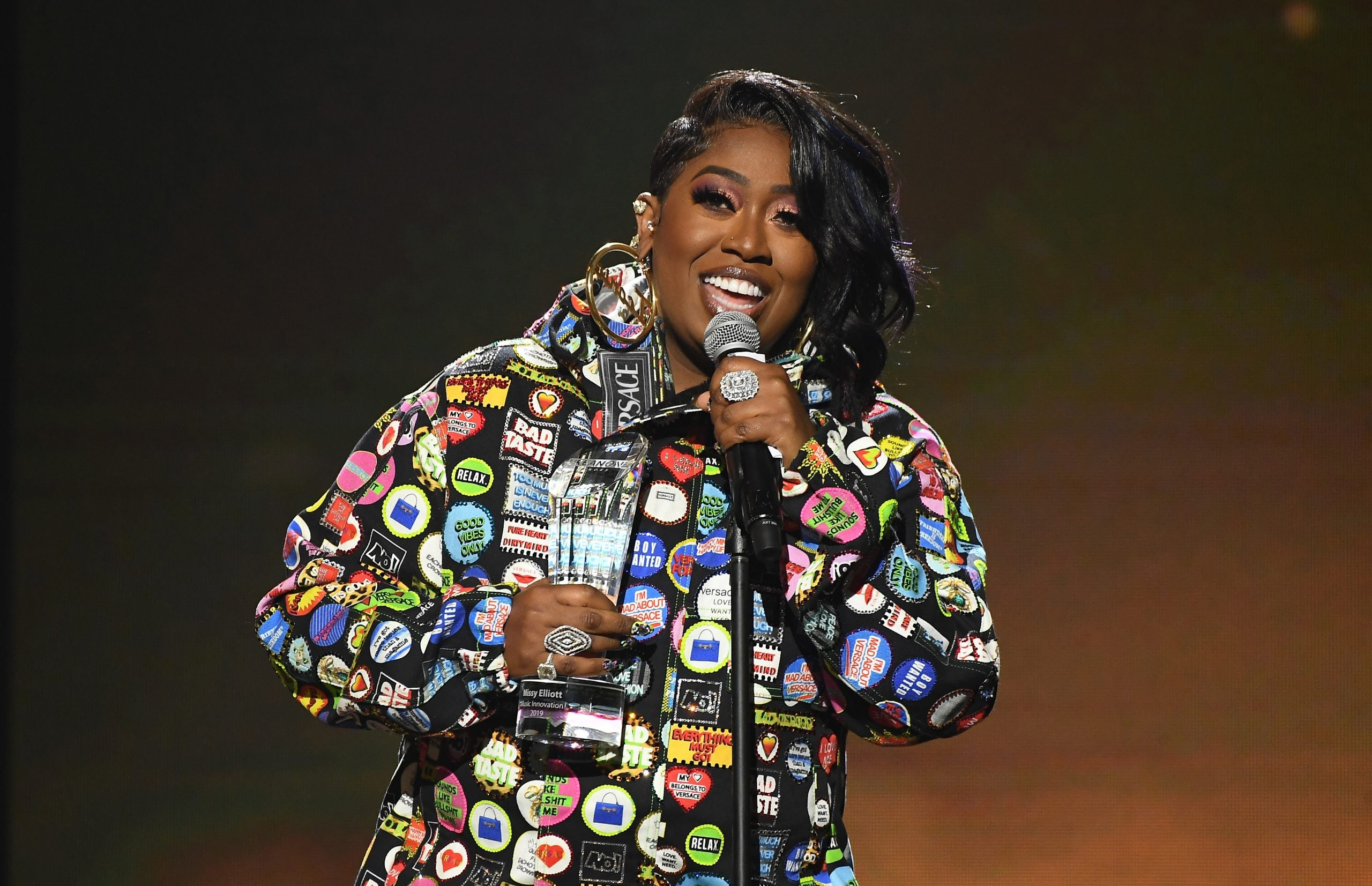 Missy Elliott's New Purple Pixie Cut Is Everything—You Have To See It