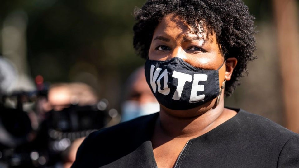 """Stacey Abrams Tells GA Voters To Remember GOP Response To COVID At The Polls Today: """"We Spent the Last Year In One Of The Lower Circles Of Hell"""""""