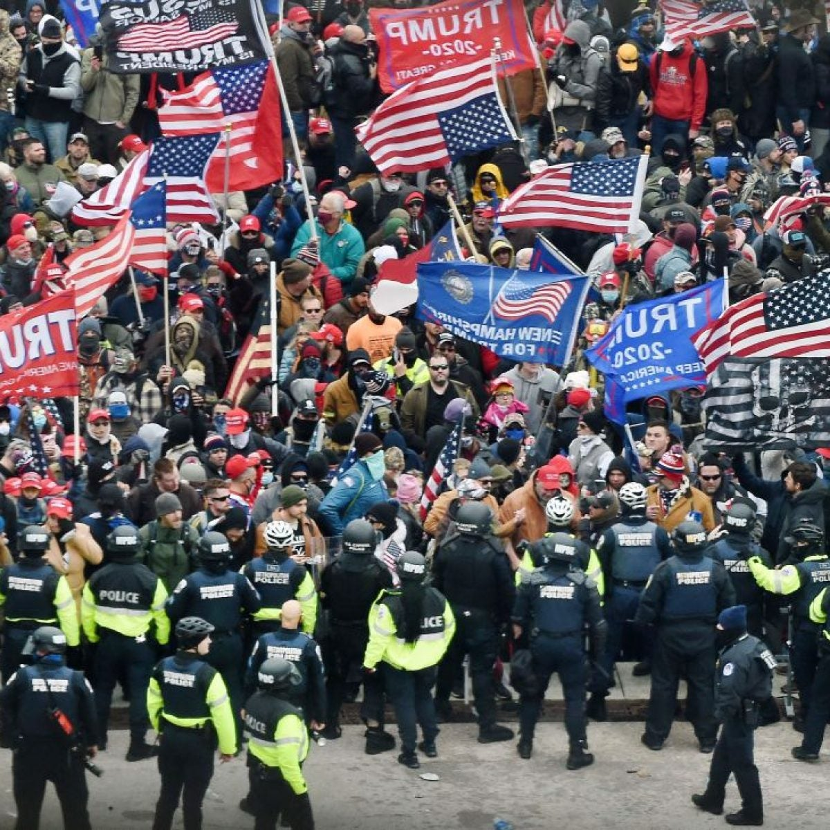 Federal Charges Following Deadly Insurrection at the U.S. Capitol