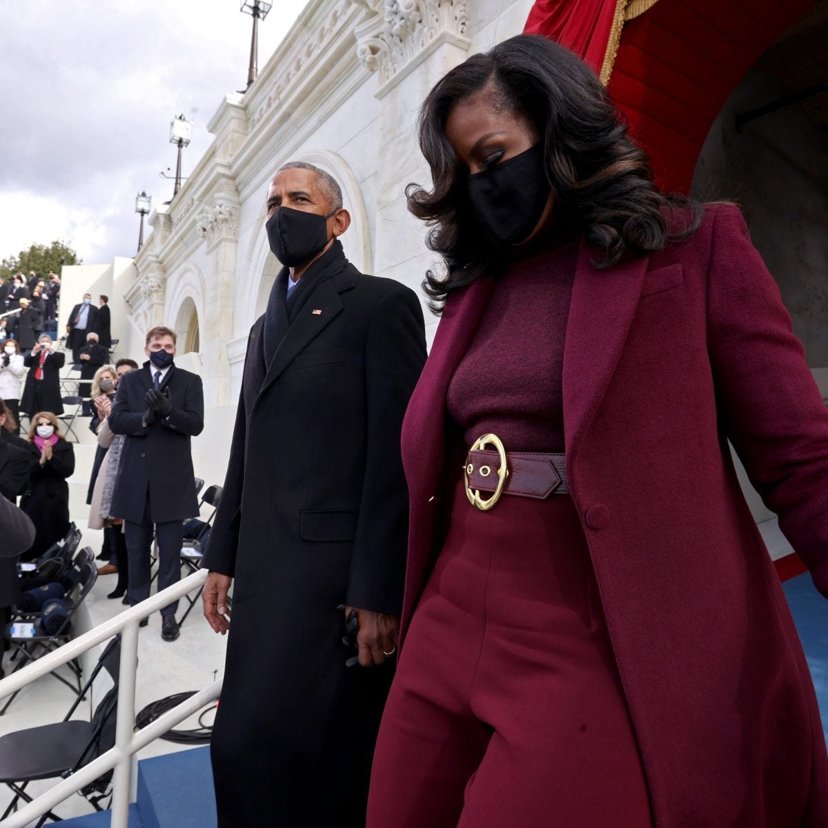 We Fell In Love With Michelle Obama's Inauguration Hair